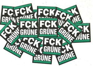 Details Zu 50 Fck Grüne Aufkleber Acab Ultras Protest Anti Nato Dieselverbot Anti Merkel
