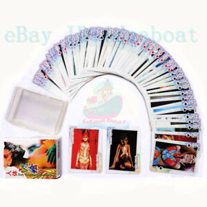 Collectible-Playing-card-Poker-Deck-54-cards-of-Body-Tattoo-Body-Painting