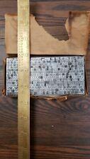 Vintage Letterpress Type Metal 12 Pt Century Medium