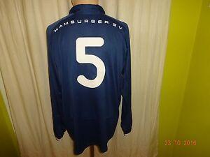 Hamburger-SV-Nike-Langarm-Matchworn-Trikot-2002-03-034-TV-Spielfilm-034-Nr-5-Gr-XL