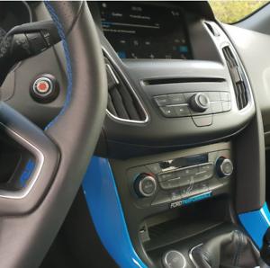 Ford-Focus-Mondeo-MK3-MK2-RS-ST-Startknopf-Gelbadge-Emblem-Gel-Embleme