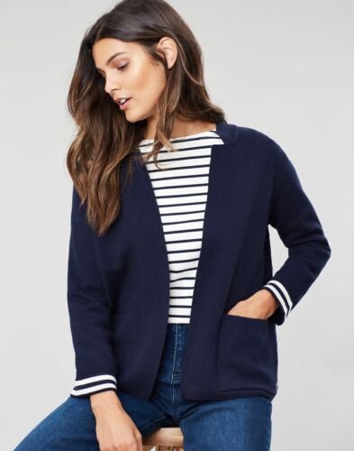 Joules Womens Ursula Milano Cardigan FRENCH NAVY