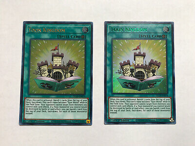 Toon Kingdom DLCS-EN074 Ultra Rare Green 1st NM Yugioh