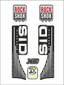 ROCK-SHOX-SID-XC-HYDRA-AIR-FORK-SUSPENSION-DECAL-SET