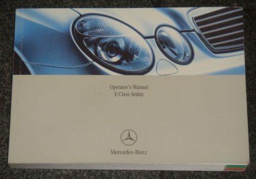 research.unir.net Motors Other Car Manuals 2006 Mercedes E-Class ...