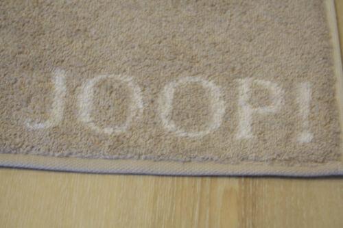 JOOP Duschtuch Badetuch 1600 Doubleface 30 Sand 80x150cm Handtuch