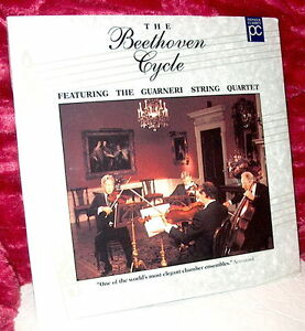 LD-Laserdisc-SEALED-Beethoven-Cycle-Quartets-Nos-9-amp-11-Guarneri-String-Quartet