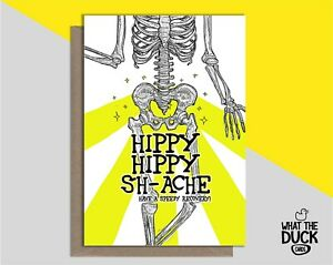 Funny Get Well Soon Greetings Card For New Hip Replacement Surgery Operation Ebay