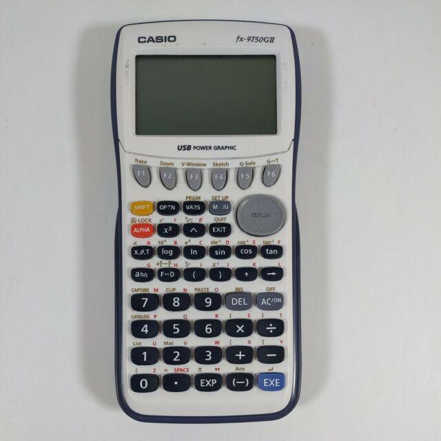 Casio fx-9750GIII Graphing Calculator TESTED