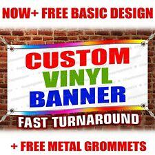 3x10 Rolled Custom Vinyl Banner Best Quality Design By Pro Designer