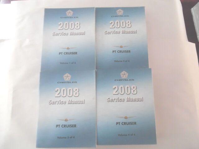 2008 Chrysler Pt Cruiser Service Repair Manual 4 Volume