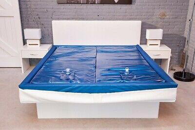 2019 Mode Mesamoll Wasserbettmatratze Dual Wasserbett Wasserkern (alle Größen) + Pflegeset Dauerhafter Service