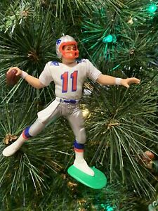 NEW ENGLAND PATRIOTS CHRISTMAS ORNAMENT DREW BLEDSOE WHITE ...