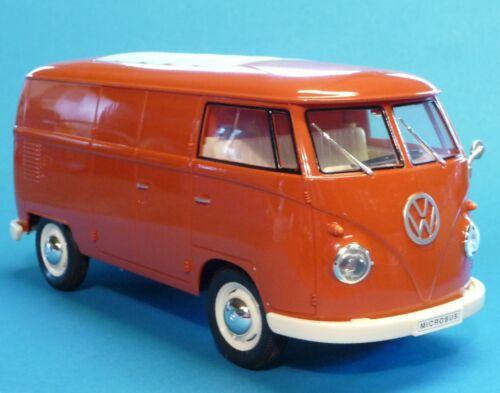 lumière 1:16 longueur 26cm à distance 27mhz 405085 Rc vw bus t1 transporteur 1963