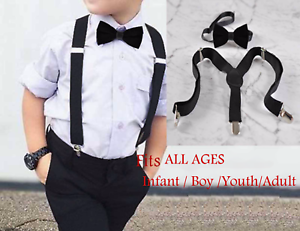 White Cotton Bow ties for all ages Men Baby Infant Youth Teenage Boy Kids