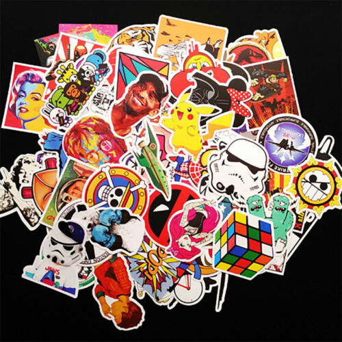 Sticker Laptop Roll Skateboard Skate Bomb Car  Pack Luggage DIY for 100Pcs Decal