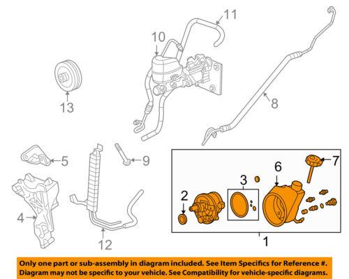parts & accessories gm oem-power steering pump 20756713 automotive  han kjøbenhavn