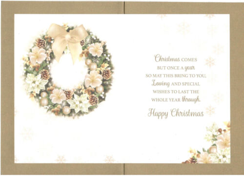 Great-Gran Christmas Card To A Special Great-Gran With Love Traditional Card