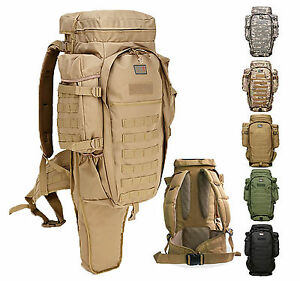9.11 Tactical Molle Backpack Bergen / Long Gun, Sniper ...