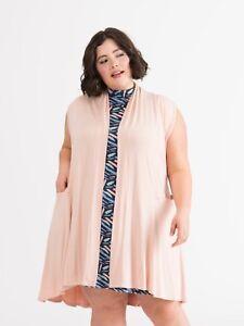 Agnes Nwt Vest In Taglia Dora Rose And Gold Cascade 2xlarge wxpq6xrz