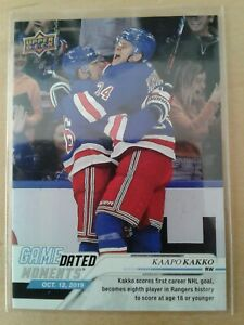 2019-20-19-20-Upper-Deck-Game-Dated-Moments-Kaapo-KAKKO-7-Oct-12-2019