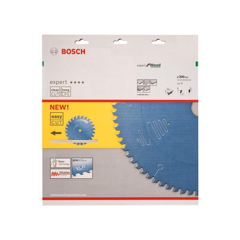 Bosch HM Sägeblatt Expert for Wood 300x30x2,5mm Z=100