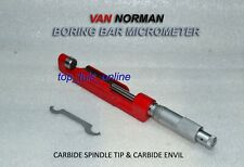 VINTAGE VAN NORMAN BORING BAR MICROMETER FOR 944S 2.200 TO 4.200 INCH BOXED