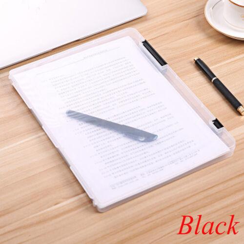 Office Necessaries School File Folder Plastic Paper Storage Document Box