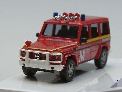 Neu Busch 51467-1//87 Mercedes G 2008 Feuerwehr München