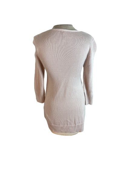 Ripcurl Cardigan Sweater Blush Pink Lilac M Mediu… - image 4