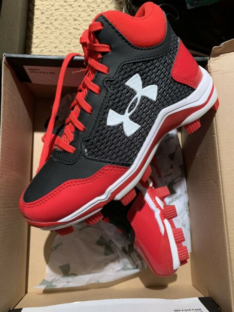 Under Armour Kid S Shoe Heater Mid Baseball Cleat Youth