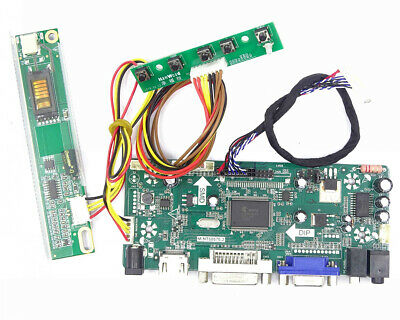 HDMI+DVI+VGA+Audio LCD Controller Board Driver Kit for LTN156AT19-001 1366X768