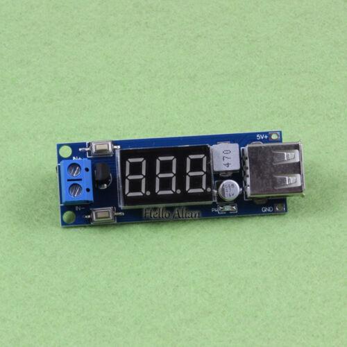 DC-DC Buck Step Down Voltage Converter 4.5-40V 12V 24V to 5V 2A Car USB Charger
