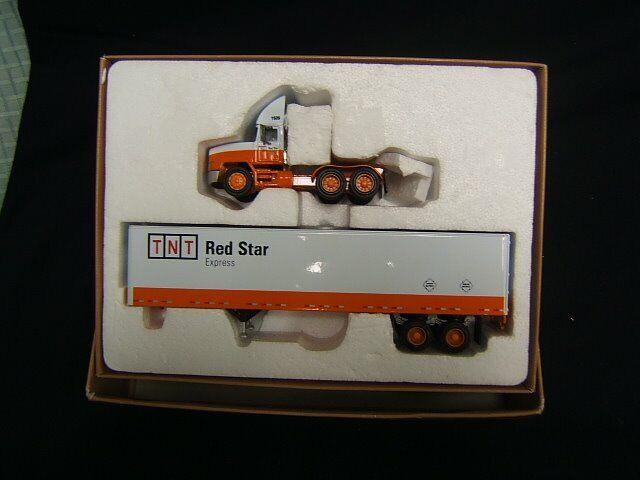 PEM TNT rot Star Express Tractor Trailer MIB M71520 1 64 Diecast