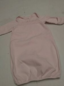 Baby Girl Pink Ruffle Lace Long Sleeve Kimono Dressing Gown 0 3