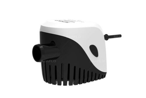 """12V Automatic 3//4/"""" SEAFLO 750 GPH Bilge Pump with Built-In Float Switch"""