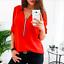 Fashion-Womens-Long-Sleeve-Loose-Blouse-Casual-Shirt-Summer-Chiffon-Tops-T-Shirt thumbnail 10
