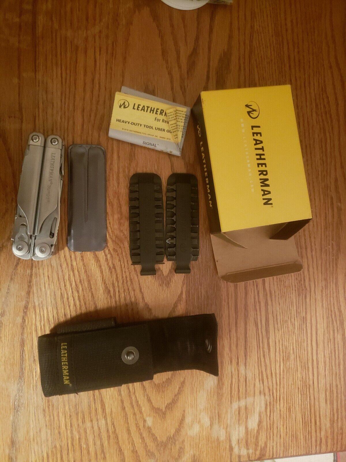 Leatherman Surge Multi-Tool with bit kit