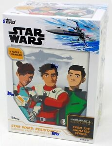 2019 TOPPS STAR WARS: RESISTANCE SURPRISE PACK BLASTER 16 BOX CASE BLOWOUT CARDS