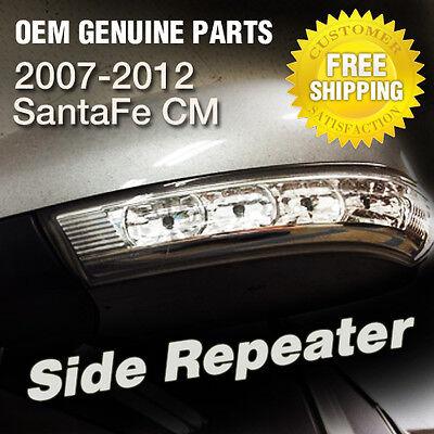 Fender Side Repeater Lamp Set for 2007-2012 Santa Fe OEM Parts X 2P