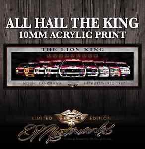HOLDEN-TORANA-COMMODORE-ACRYLIC-ART-PRINT-THE-LION-KING-9-RACE-CROWNS
