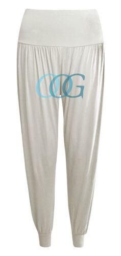 Womens Trousers Aladin Ali Baggy Boho Leggings Plain Pants Hippy Harem Baba 8-26