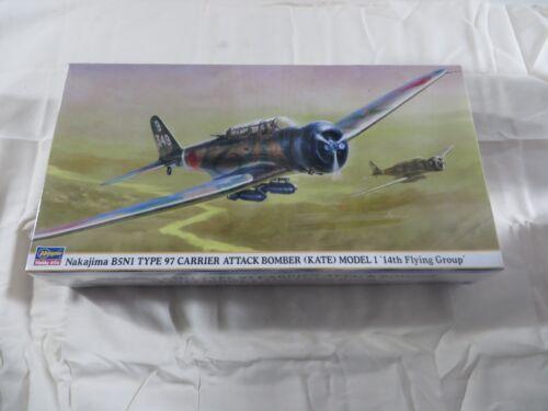 09525 De Modèles Hasegawa 14ème B5n1 Bombardier 1 48 Nakajima Vol Scellé Groupe BxqvBH7