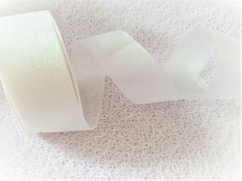 Eleganza Candy Shimmer Iridescent Ruban 6 NUANCES /& VAR LONGUEURS ** nouvelle ligne **
