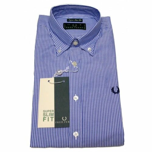Bouton Fit V0031 Fred Chemise Popeline Perry Droite Chemise Homme Slim Homme Coupe q6OwXF