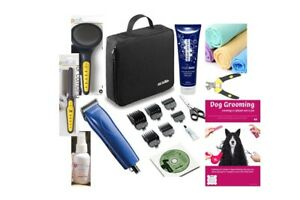 ULTIMATE-18-PCE-DOG-GROOMING-STARTER-KIT-CLIPPERS-BONUS