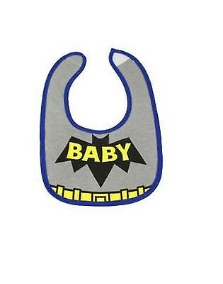 Baby Boy/Girl Costume Bibs - Superman Hero/Tuxedo/Skull/Leopard/Zebra 0-1yr
