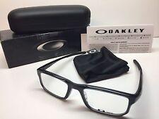 NIB Oakley Voltage Black Ink Frames Rx Eyeglasses OX8049-0253 W/Case 53/19/137