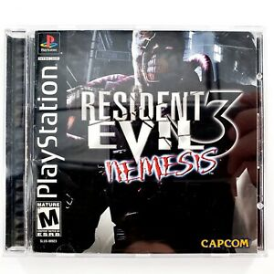 Resident Evil 3: Nemesis (PlayStation 1, 1999) Complete Tested & Works **READ**