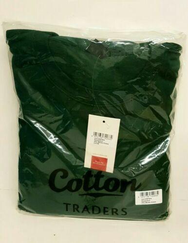 Sudadera cottontrader 4XL Verde Botella NUEVO *